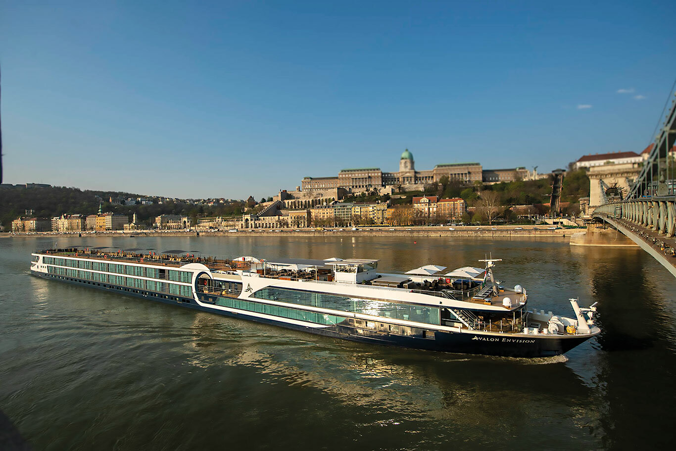 Avalon Envision on the Danube