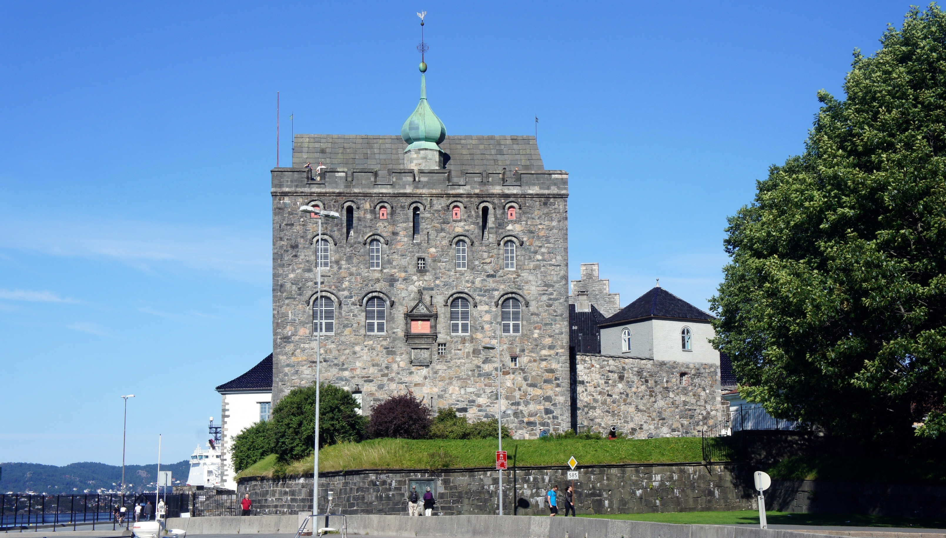 Bergenhus Fortress Bergen Norway