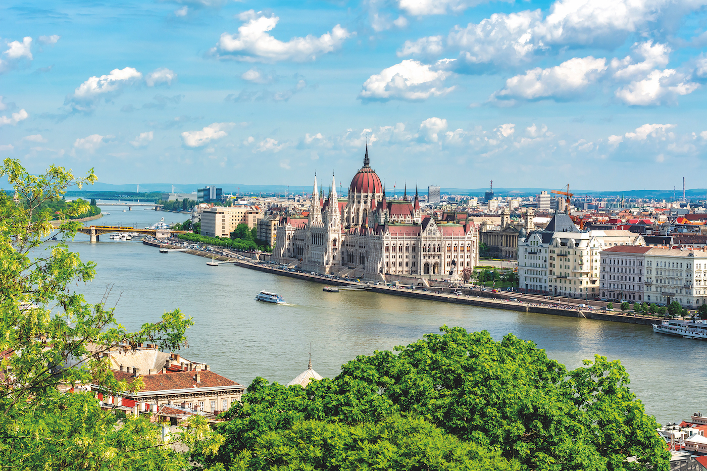 win avalon danube cruise Budapest parliament