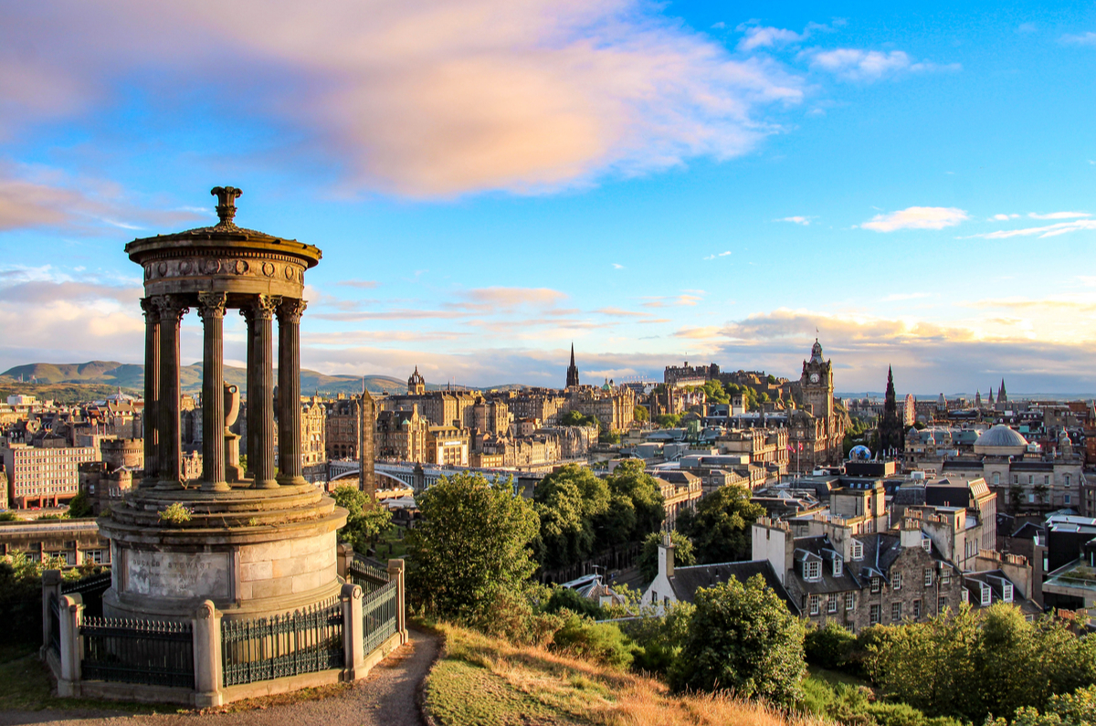 Calton Hill – Edinburgh – Scotland