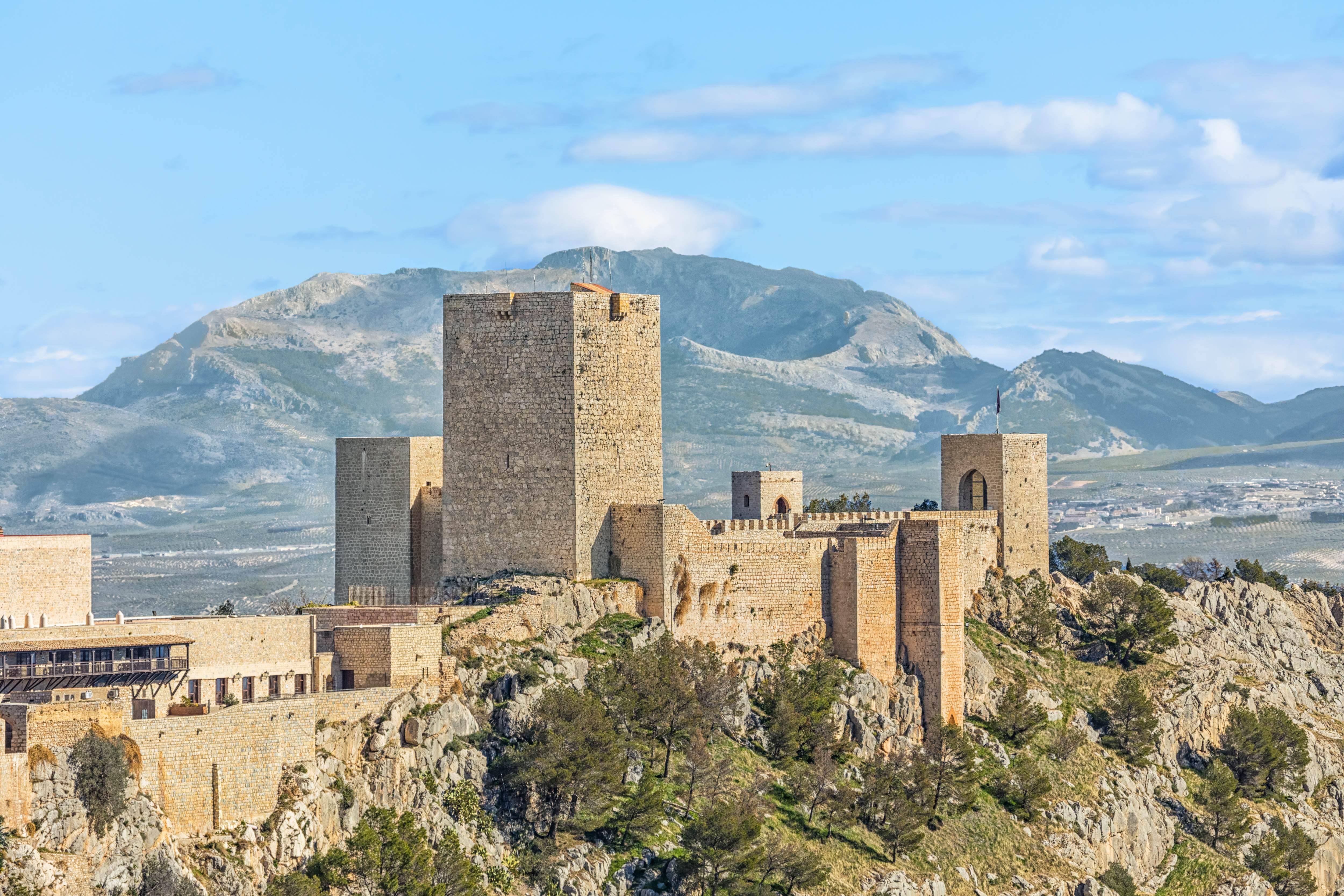 Castillo de Santa Catalina Jaen Andalusia Spain