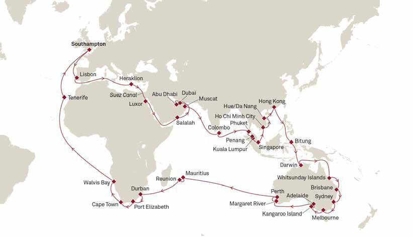 World of Cruising | NEW Cunard Cruises on Sale Today with ROL Cruise