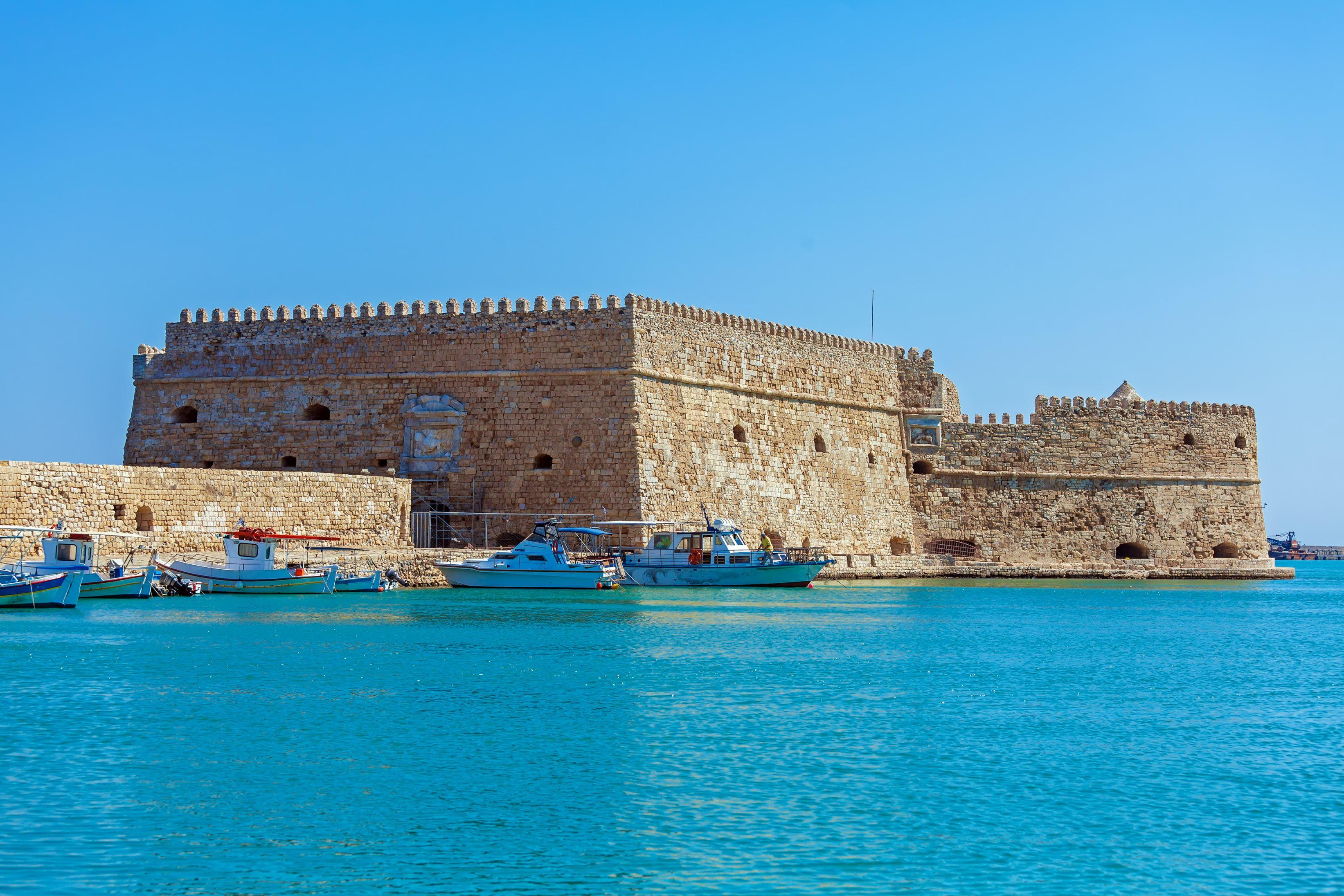 Koules Fortress Crete Greece