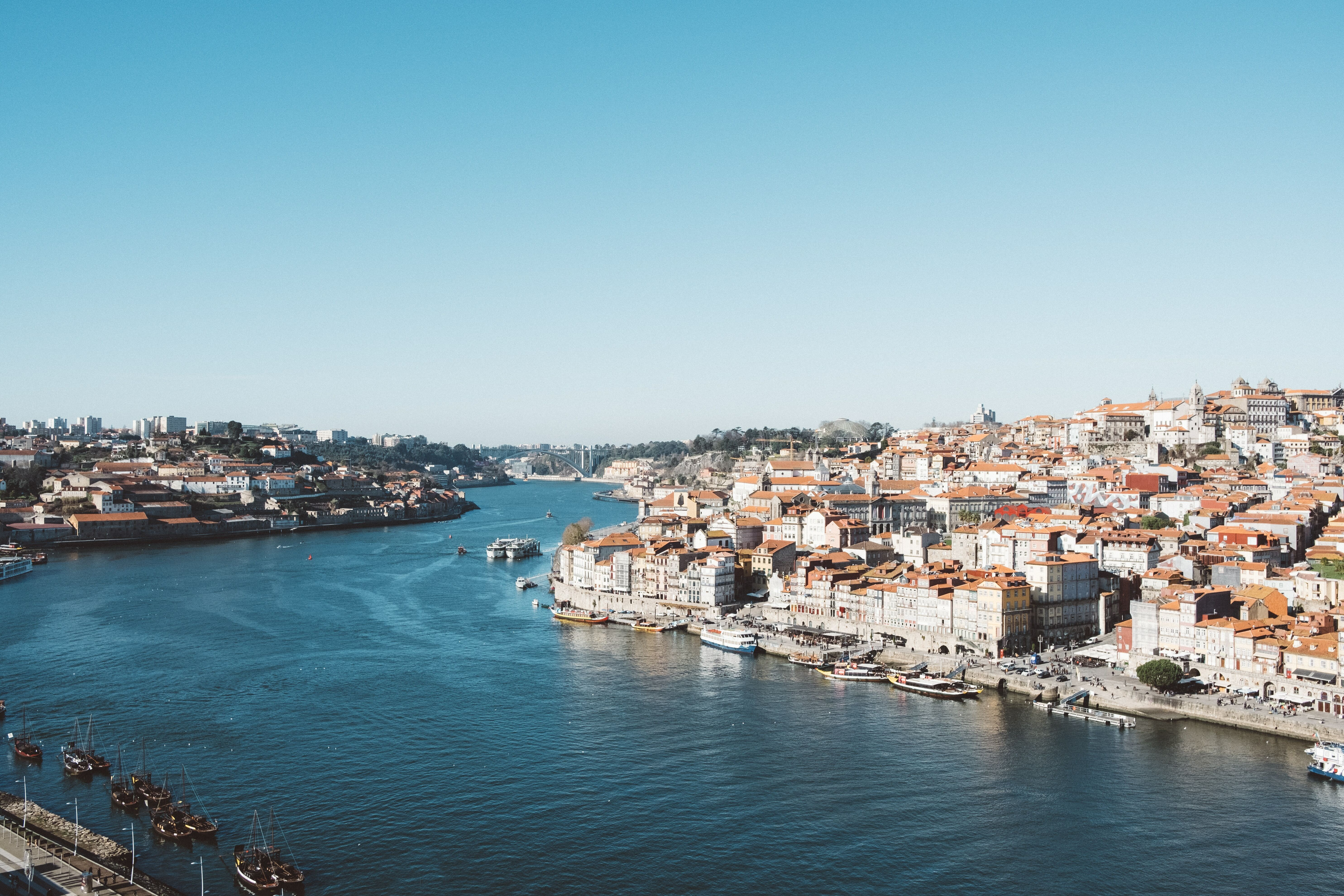 Portugal River Skyview