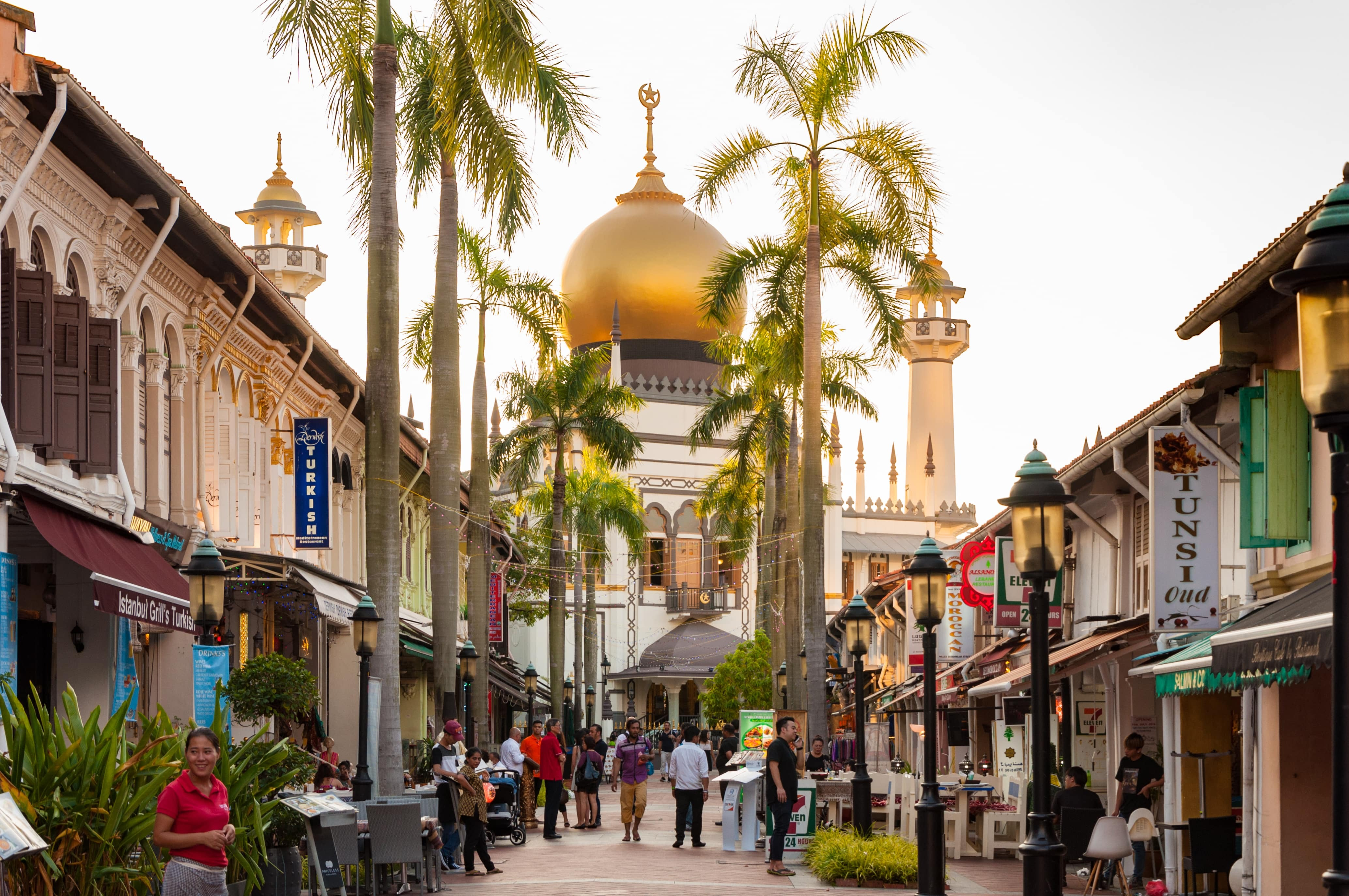 Sultan Mosque North bridge road Kampong Glam Singapore