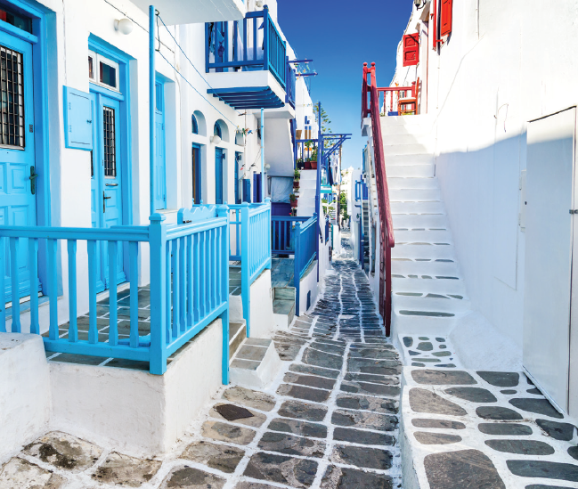 Traditional houses – Mykonos – Greece