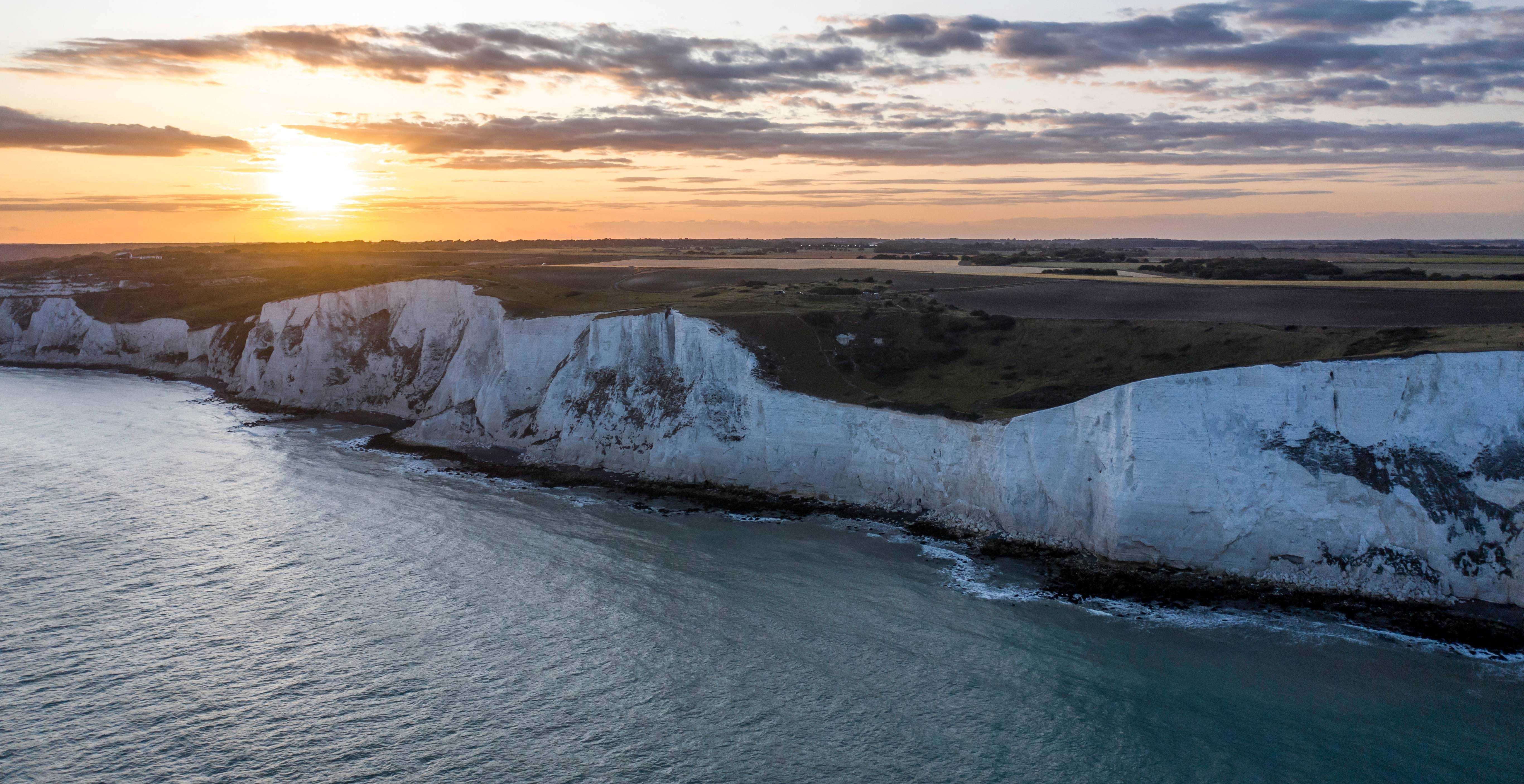 White Cliffs of Dover Dover UK