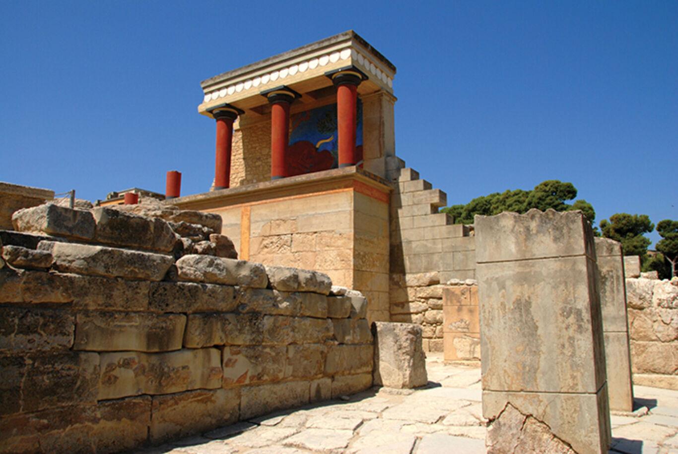 Heraklion KNOSSOS Photo of the Region of Crete
