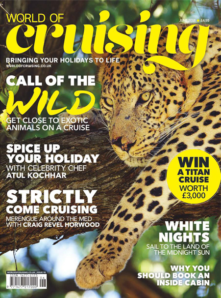 World of Cruising June 2018 front cover