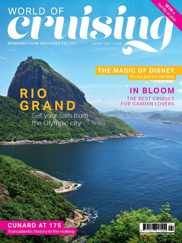World of Cruising magazine August/September 2015