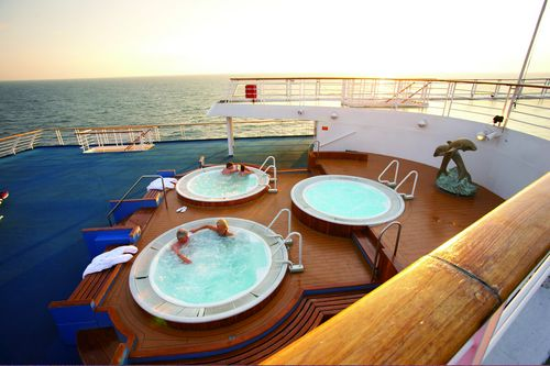 Ms Marco Polo Jacuzzi on board