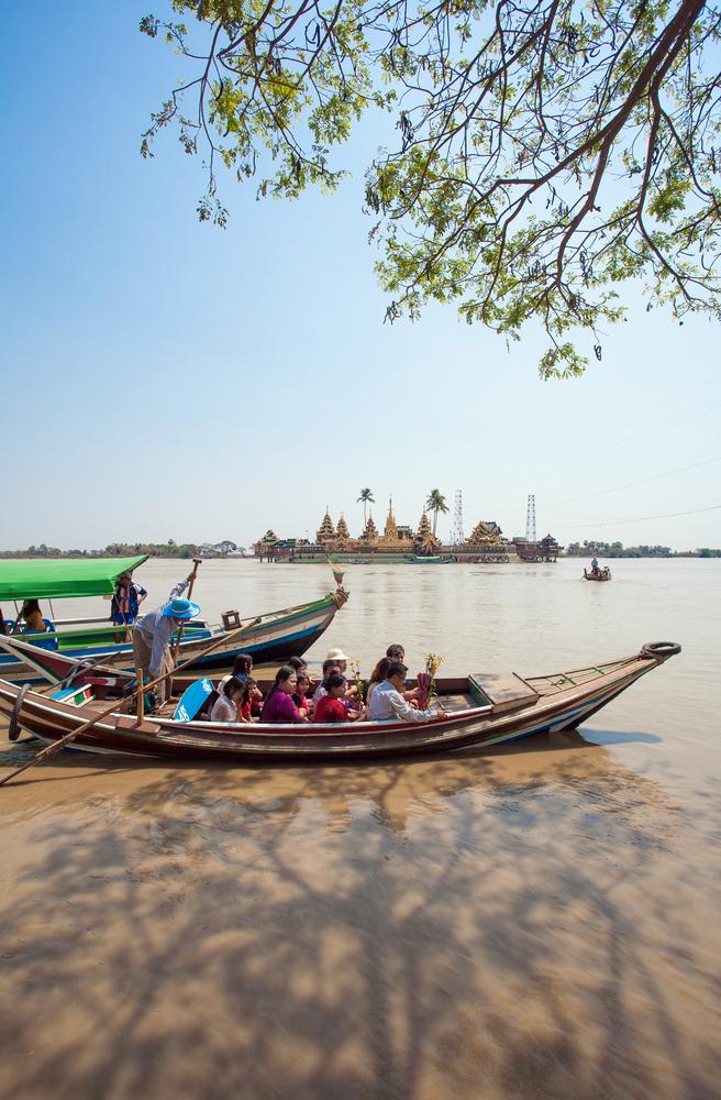 Yangoon river
