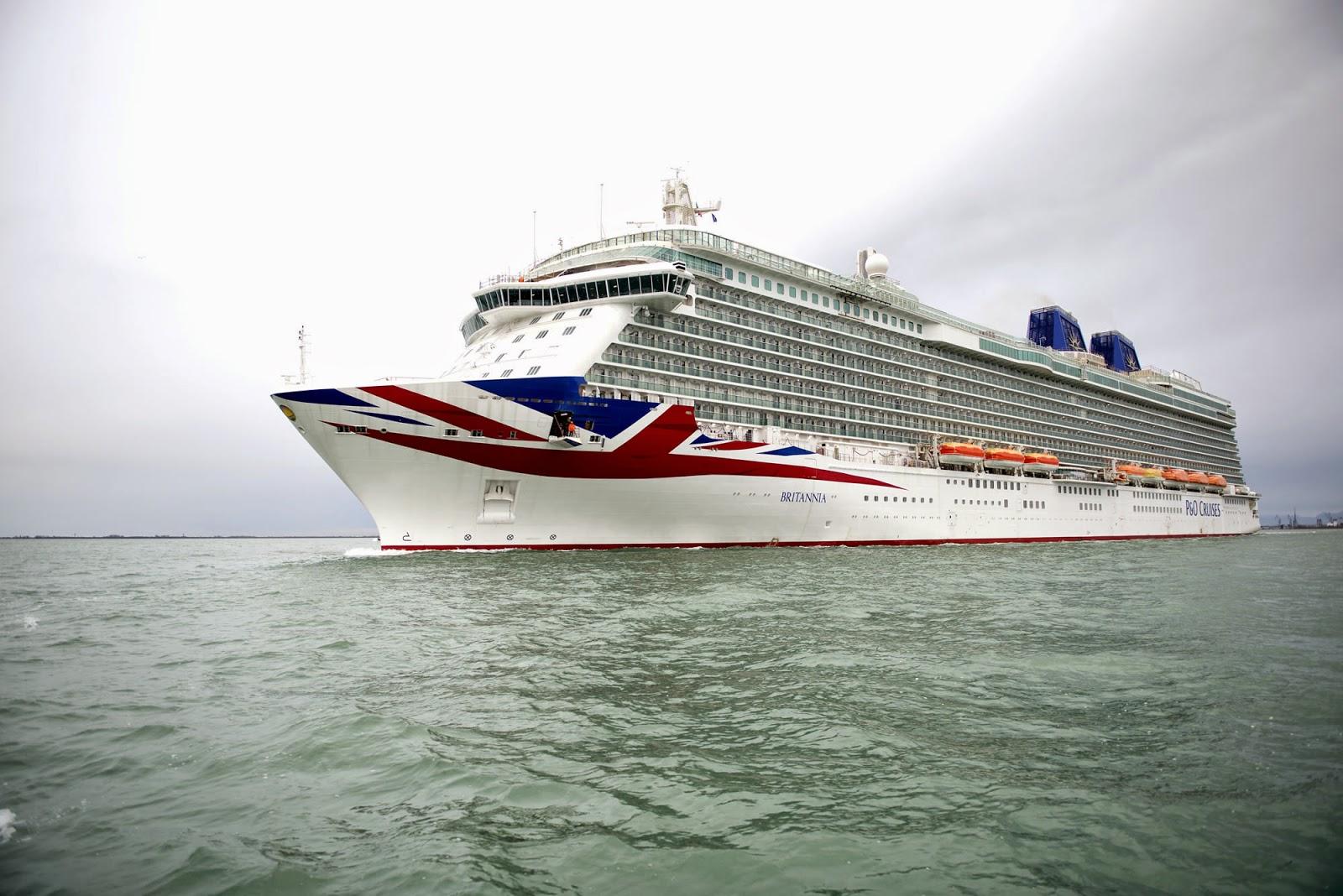 Britannia Sea Trials