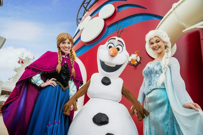 Disney Cruise Lines Frozen experience