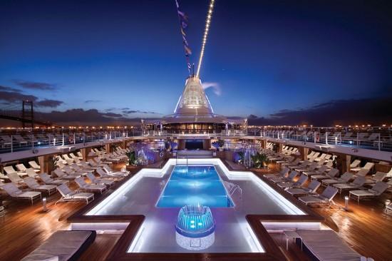 Oceania Riviera Pool