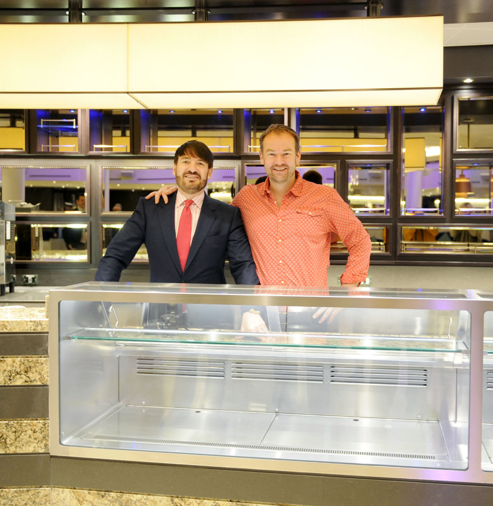 Eric Lanlard and Charlie Turnbull