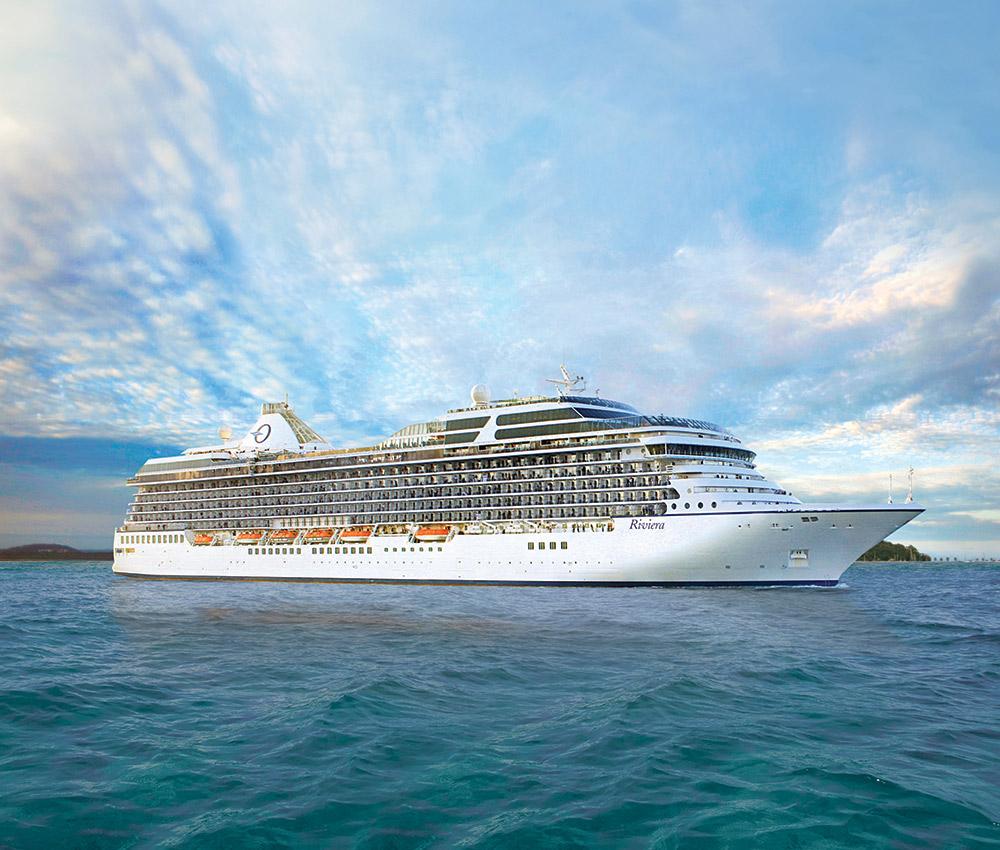 Oceania Riviera exterior