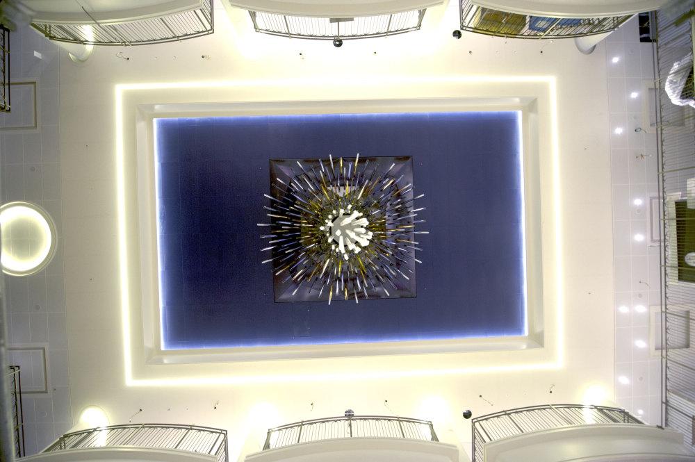 Starburst from below