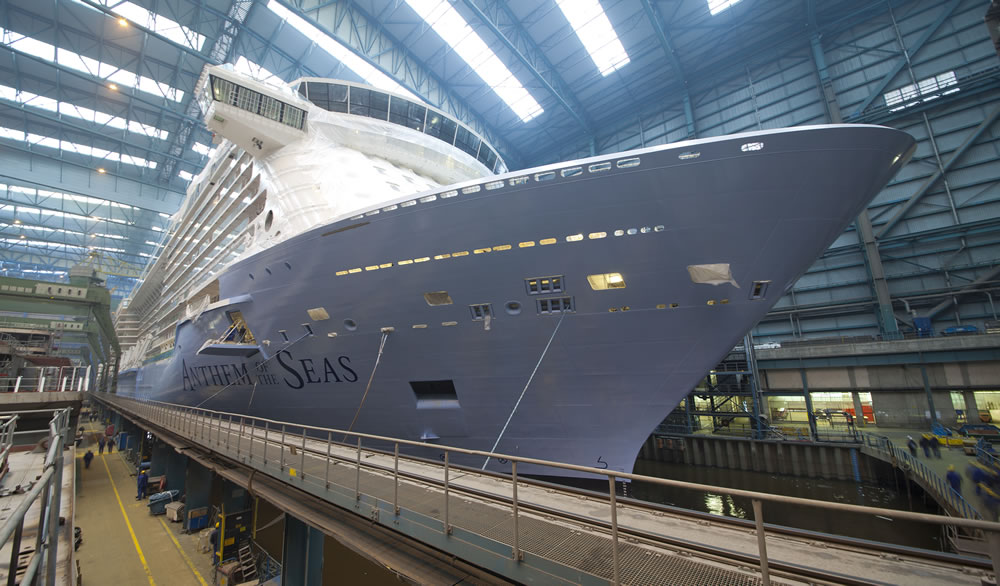 Anthem of the Seas - February 2015