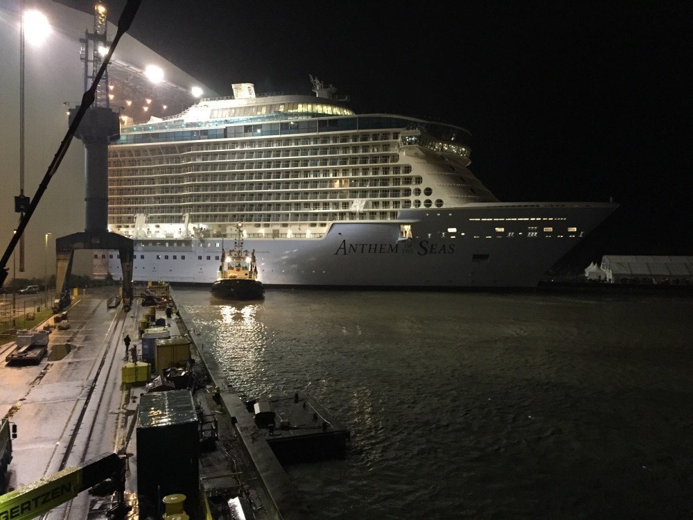 Anthem of the Seas Float Out
