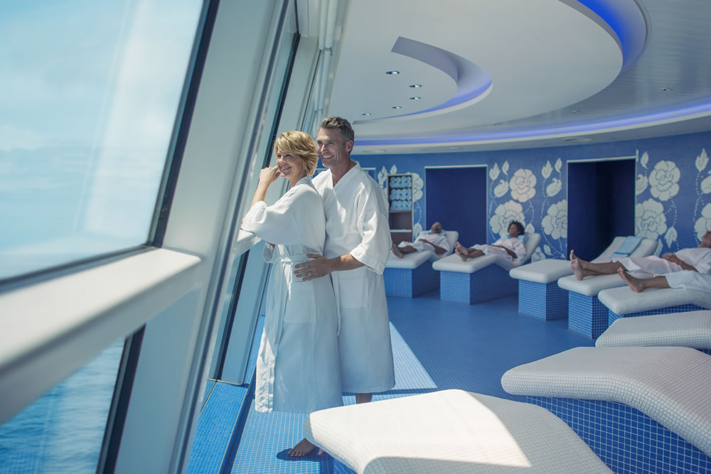 Relaxing Canyon Ranch Spa Treatments On Celebrity Equinox