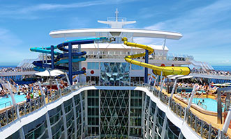 New slides to appear on Harmony of the Seas