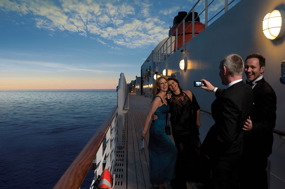 Photographs on Queen Mary 2