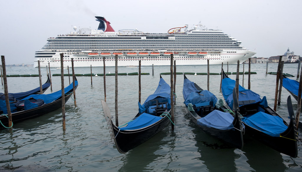 Carnival Breeze in Venice