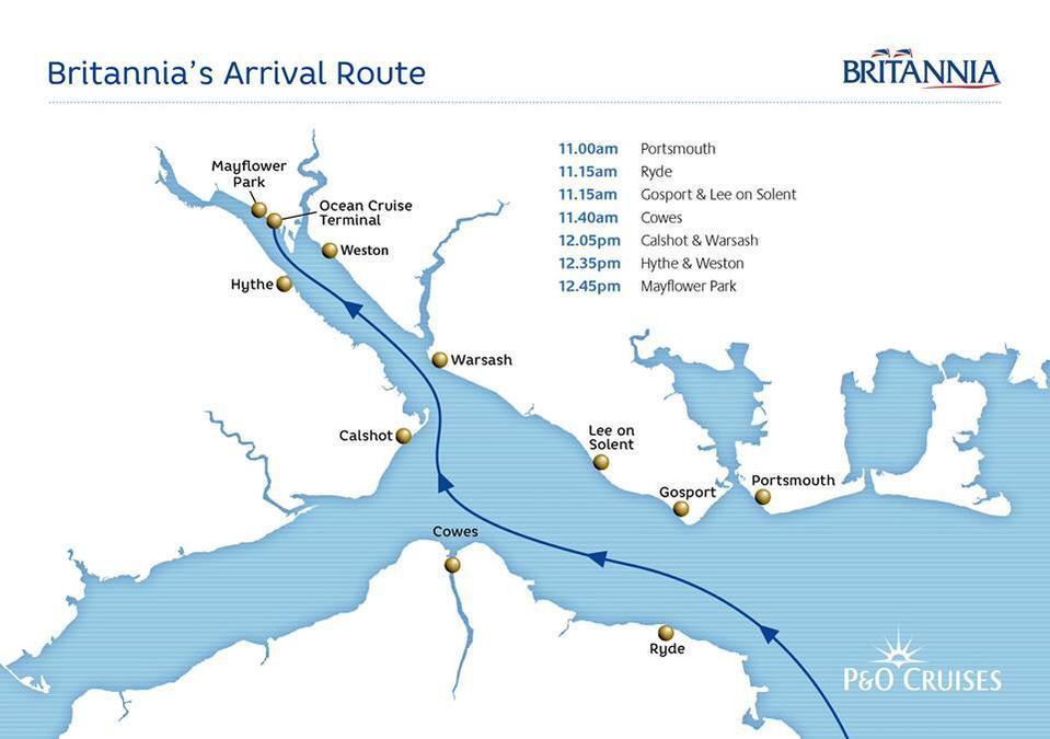 Britannia route