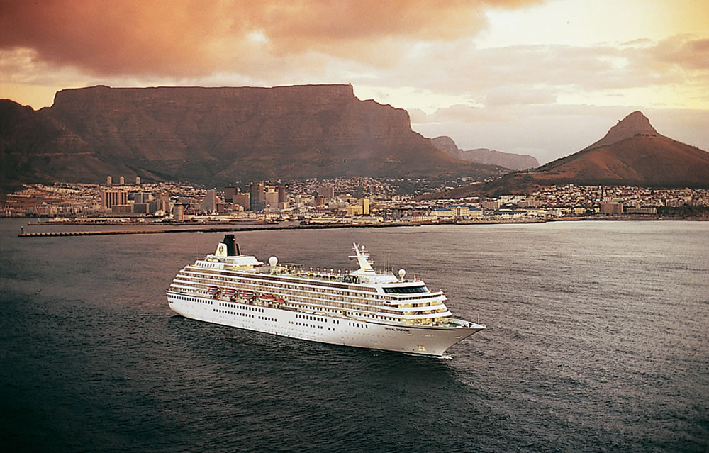 Crystal Symphony in Capetown