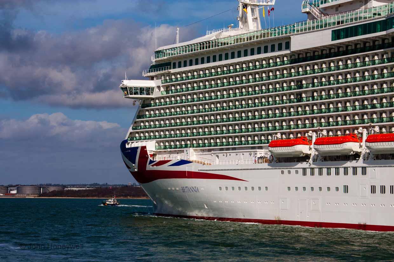 Britannia's bow