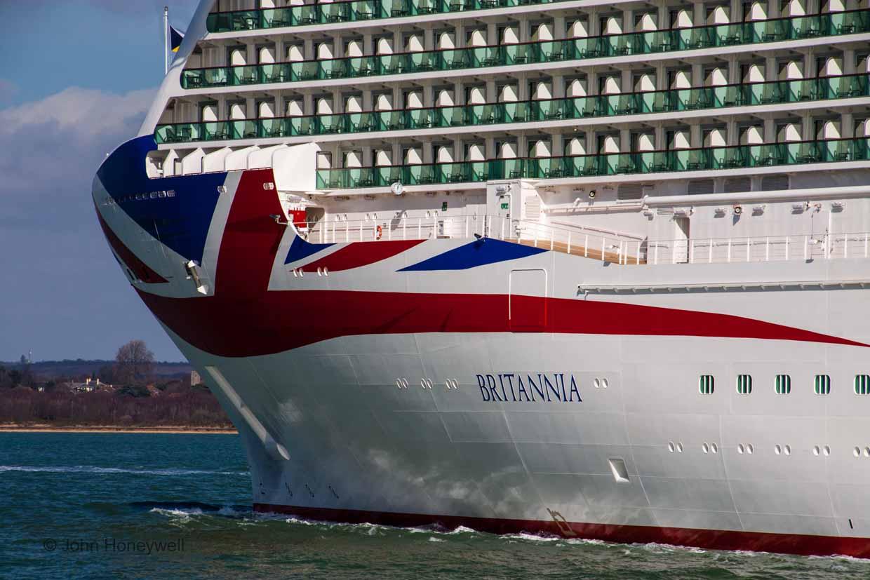 Britannia's hull artwork