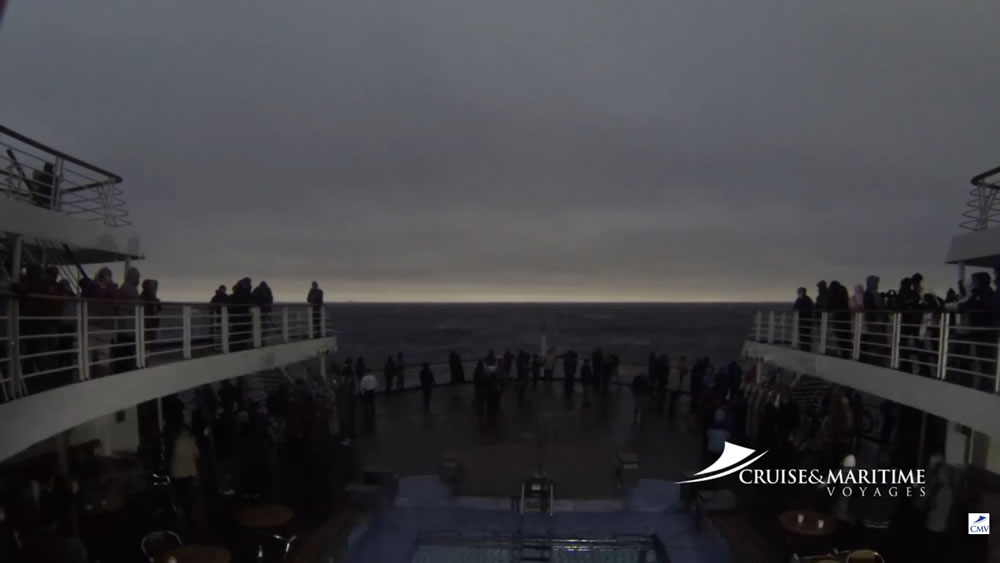 Marco Polo solar eclipse