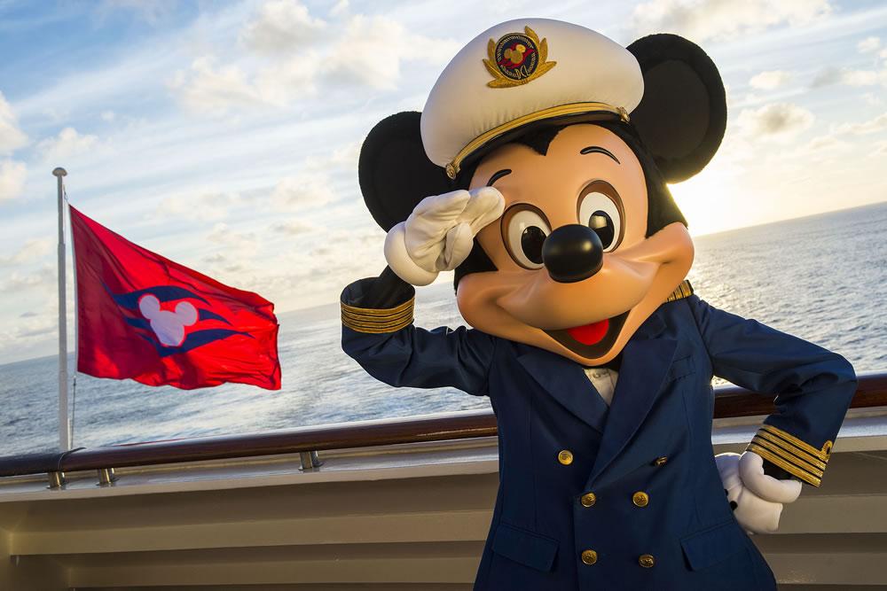 Mickey on Disney Magic