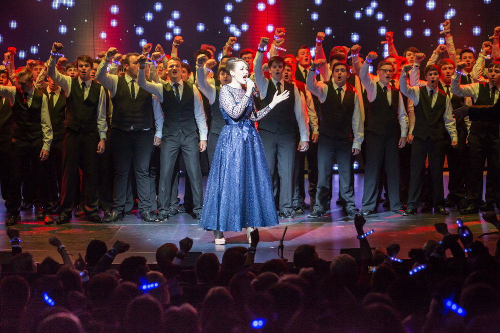Emma Wilby sings on Anthem of the Seas
