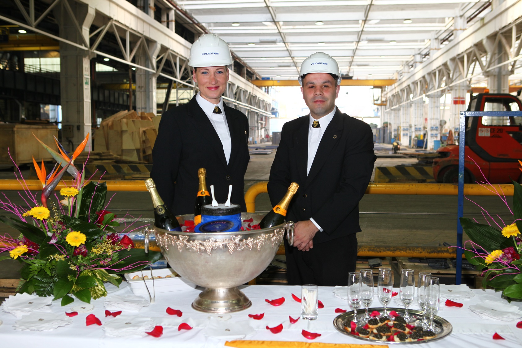 Seabourn Legend crew members