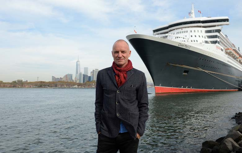 Sting and Queen Mary 2