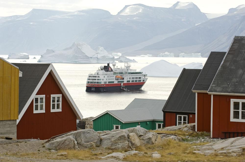 Hurtigruten's Fram