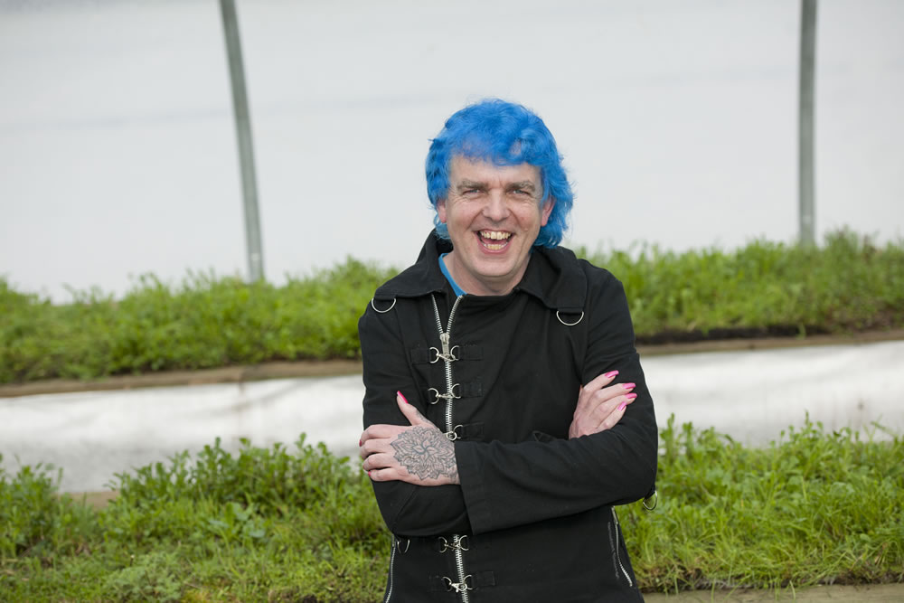 Autistic Alan Designs Viking Ocean Cruises Show Garden At