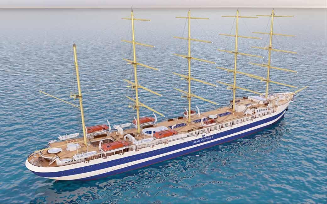 Star Clippers Building Biggest Sail Cruise Ship U2013 World Of Cruising Magazine