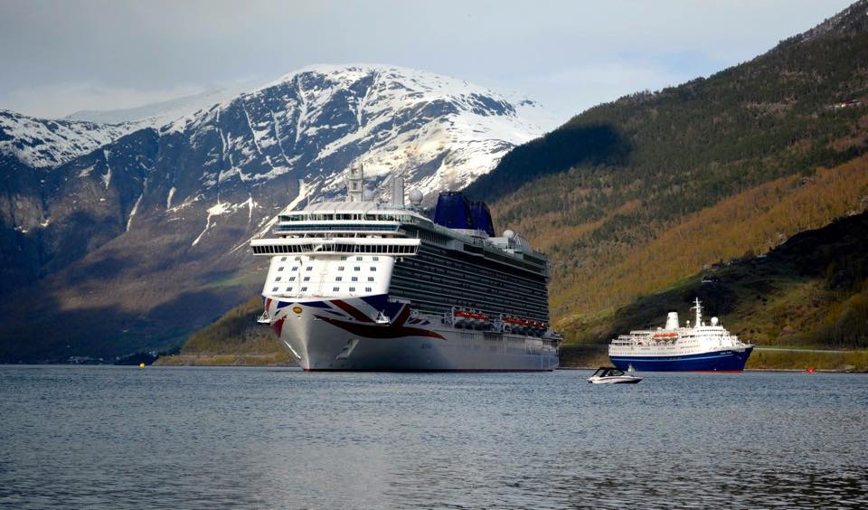Cruise Encounter Of The Fjord Kind As Marco Polo Meets