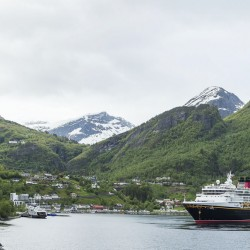 Disney Magic in Geiranger, Norway