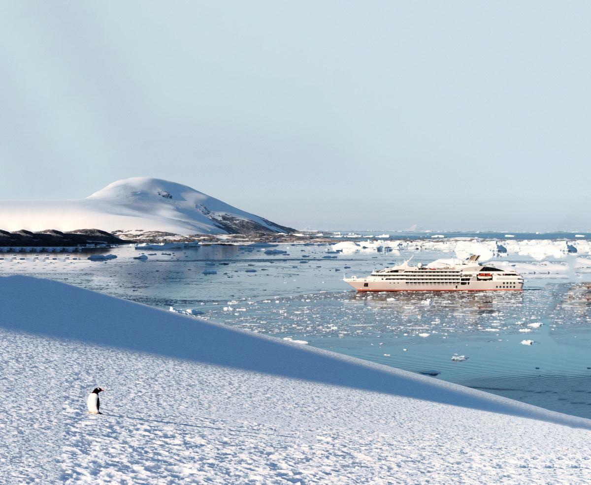 PONANT Le Soléal in Antarctica