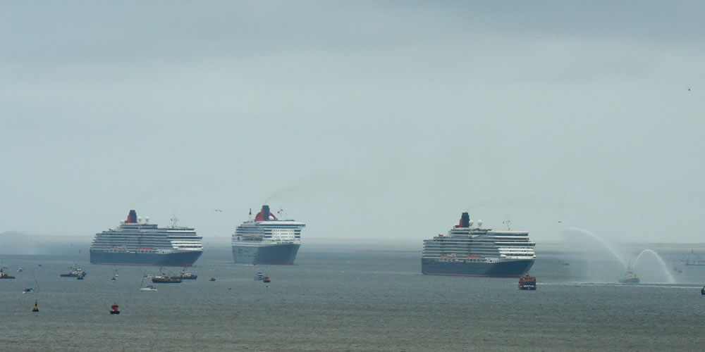 Three Queens in Liverpool