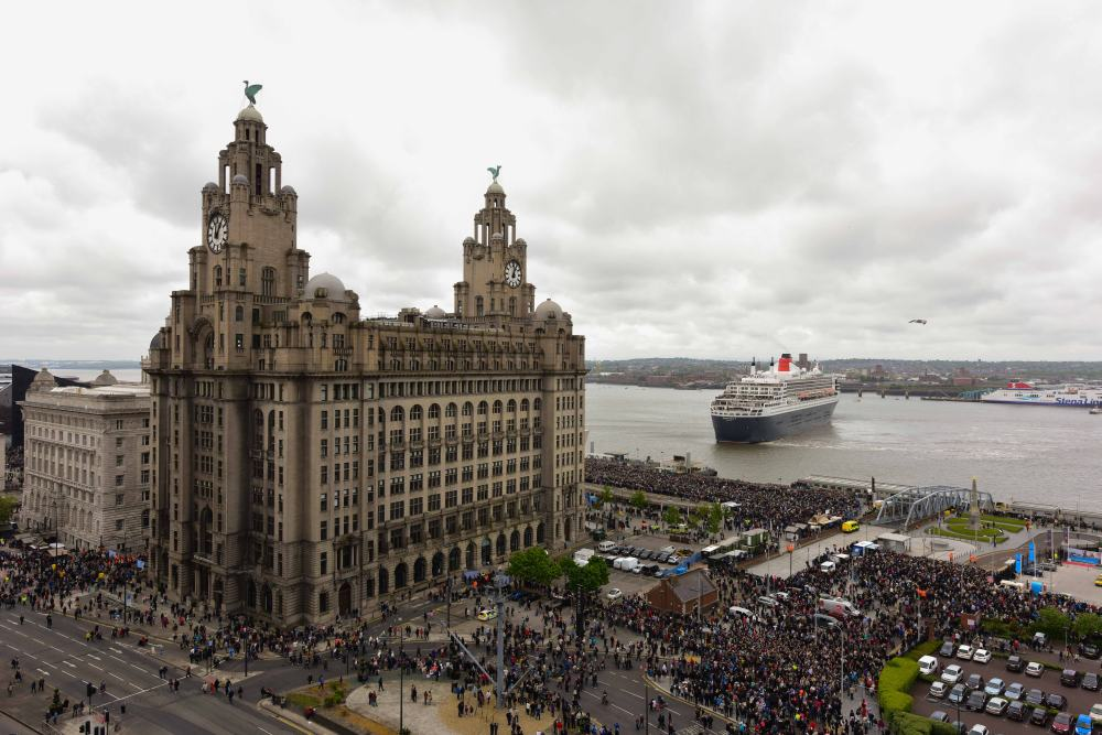 175 Cunard - 3 Queens - Liverpool