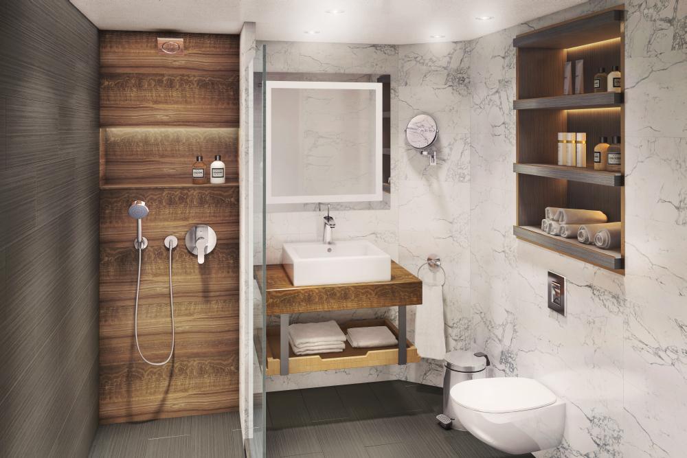 Club Continental Suite - Bathroom