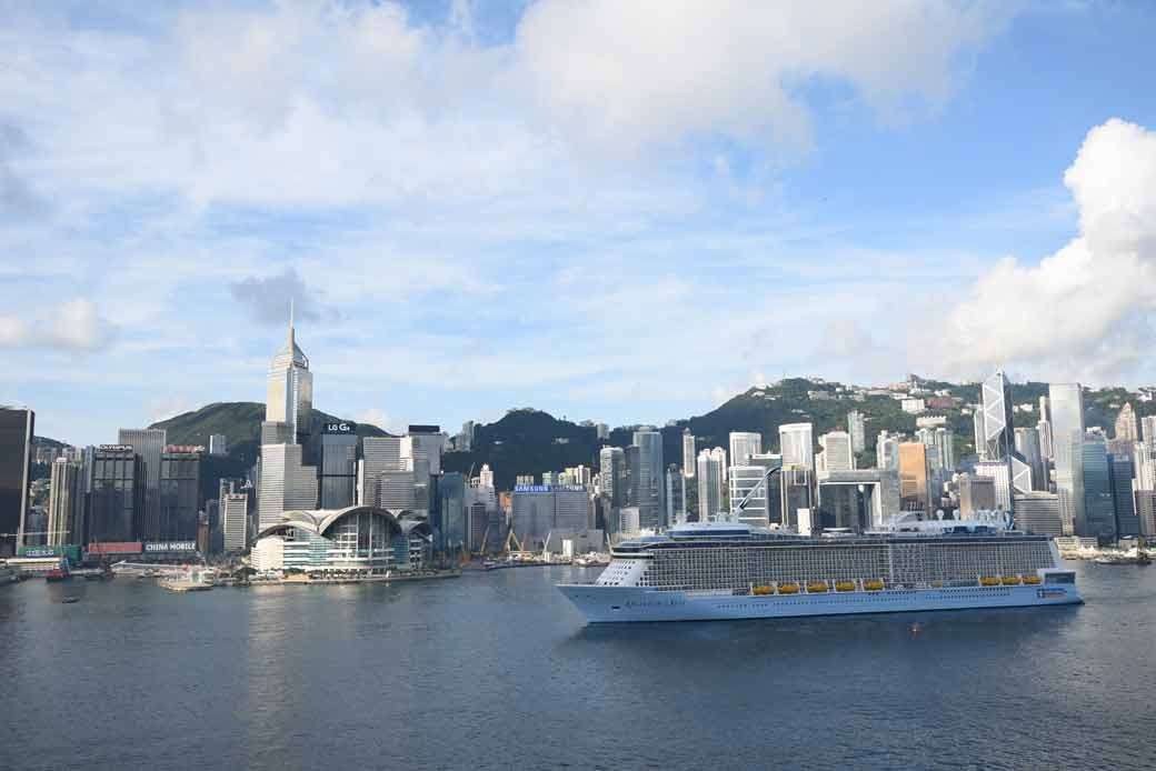 Quantum-of-the-Seas-in-HK_Victoria-Harbour