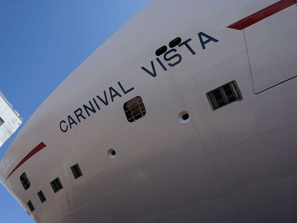 Carnival Vista Coin Ceremony