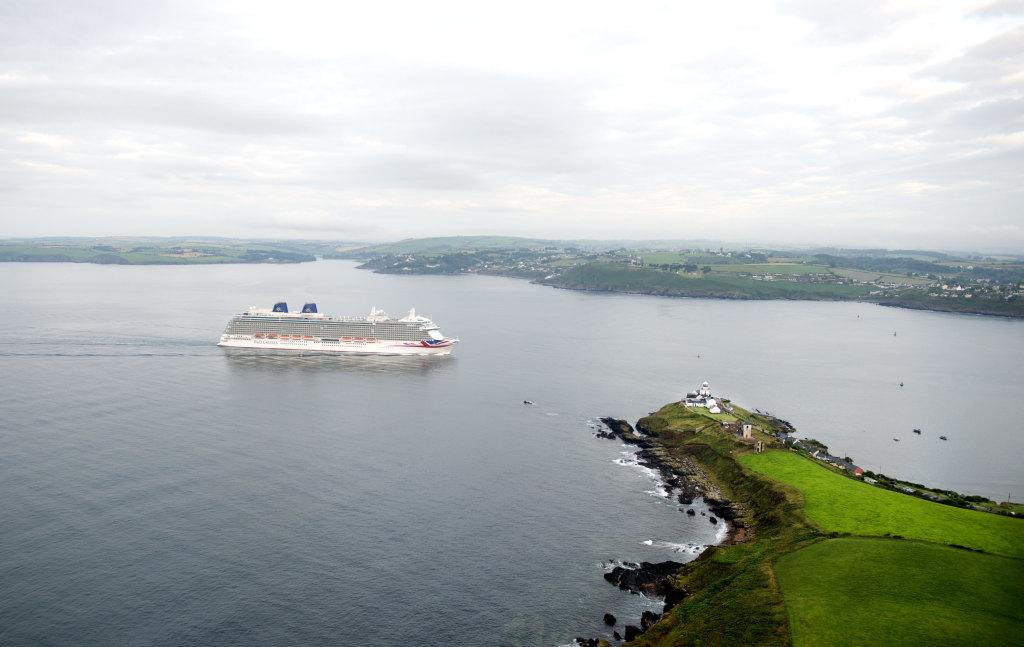 Britannia and Roches Point Ireland