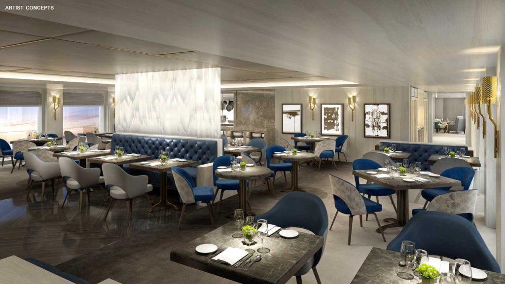 Esprit Yacht Club Restaurant rendering